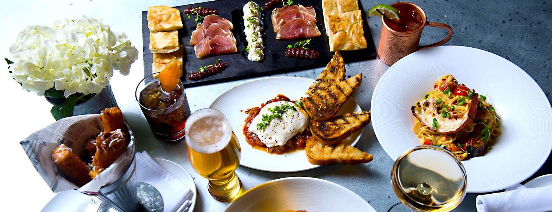 menu from Main Street Social restaurant in libertyville