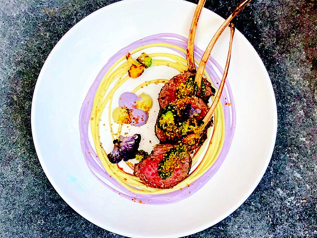 restaurant in libertyville main street social lamb chops