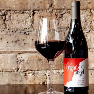 Pinot Noir-Wines-Bright-Angel at Main Street Social restaurant in Libertyville